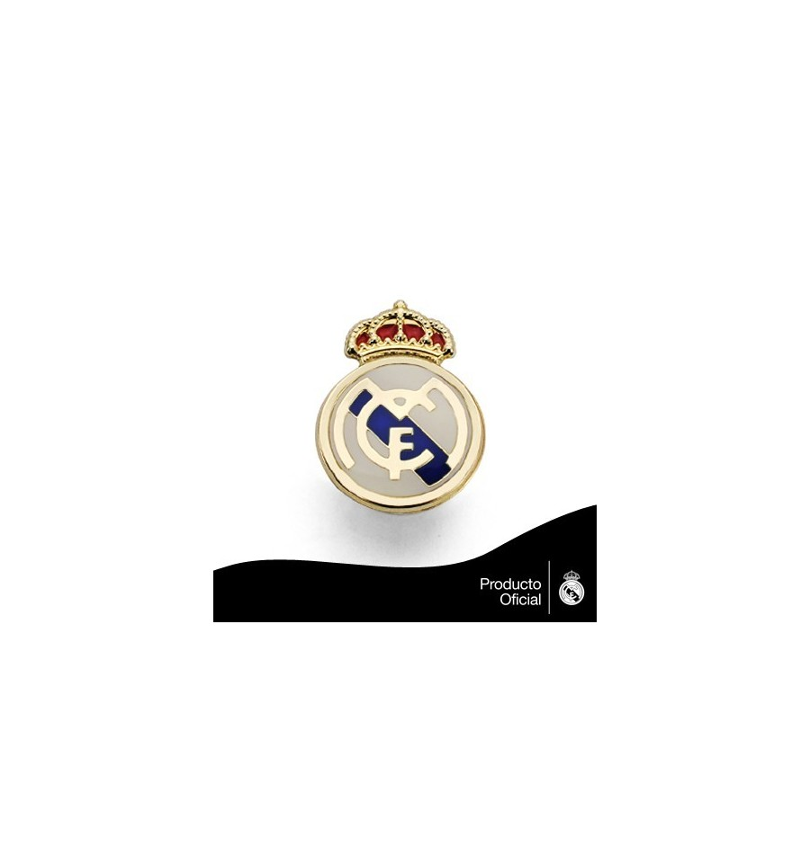 a6b2d7444fb2 pin-oficial-real-madrid-en-oro-de-18k