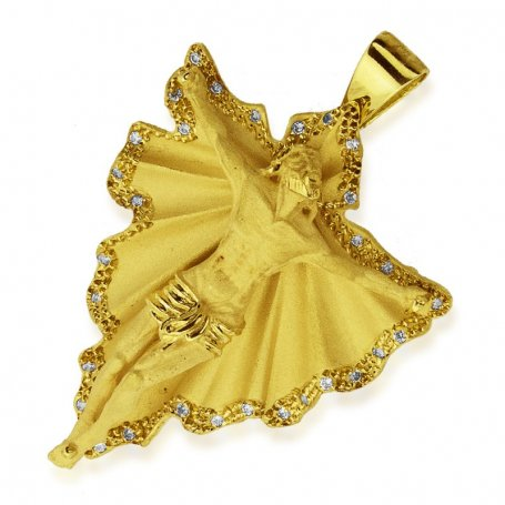 Colgante de Oro 18k Cristo