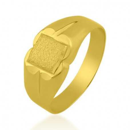 Sello Oro Rectangular Cuadrado