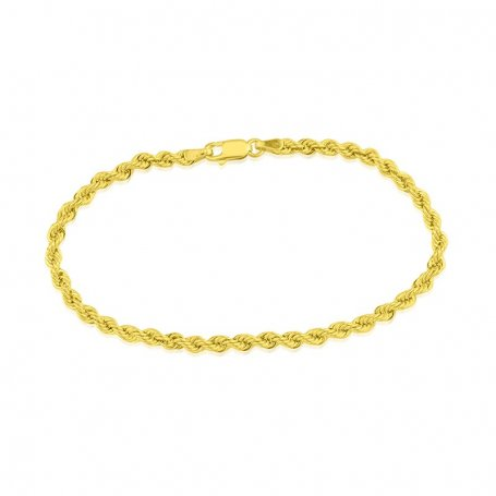 Pulsera Cordón Singapur Oro Nine