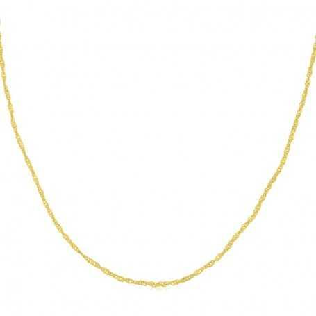 Cadena Eslabón Oro Seattle