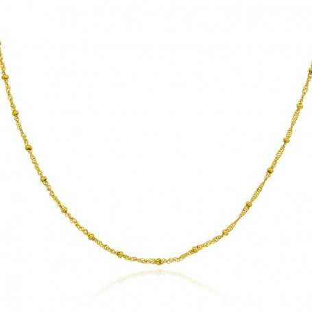 Cadena Eslabón Oro Whasington