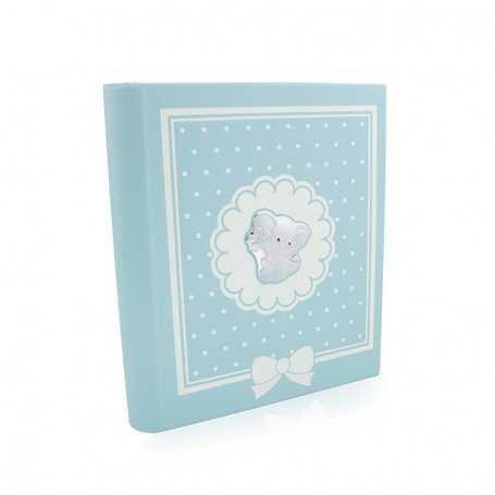 Álbum Azul Elefante en Plata