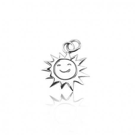 Abalorio Plata Sol Charm