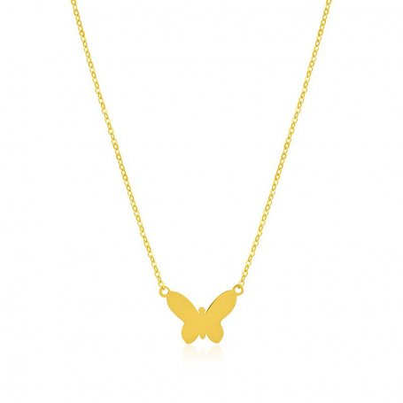 Collar Mariposa Oro Adam