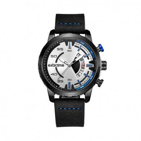 Reloj Hombre Exactime Azul Sportive