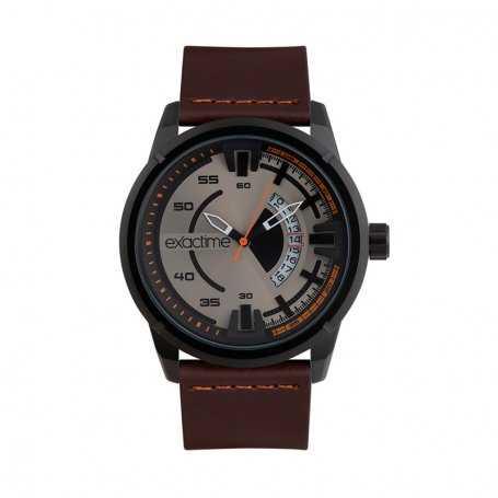 Reloj Hombre Exactime Marrón Sportive
