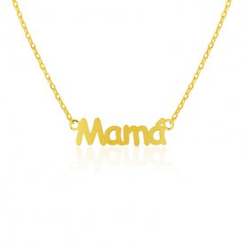 Gargantilla Oro Mamá Love