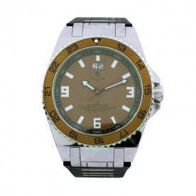 Reloj Hombre Acero Deportivo Cyma Ice Brown
