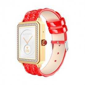 Smartwatch Rojo Dorado Lady Collection