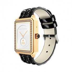 Smartwatch Negro Dorado Lady Collection