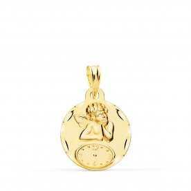 Medalla Reloj Ángel Oro