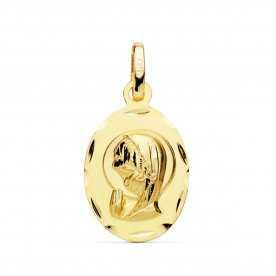 Medalla Oro Infantil Virgen Niña Convicción
