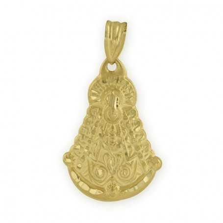 Medalla Virgen del Rocío Oro 18K
