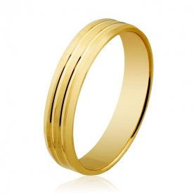 Alianza Londres M436  4mm Oro 18K