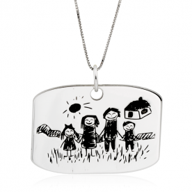Collar Baby Draw Personalizable