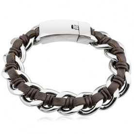 Pulsera Roger Brown Steel