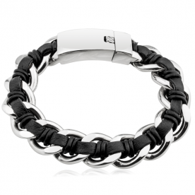 Pulsera Roger Black Steel