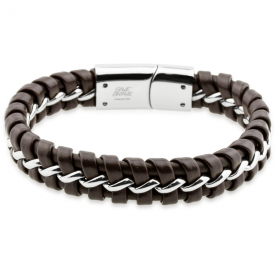 Pulsera Lima Brown Steel