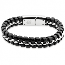 Pulsera Lima Black Steel