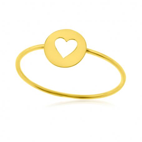 Anillo Oro Corazón