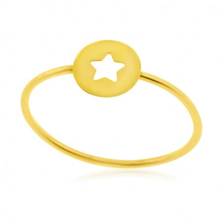 Anillo Oro Estrella