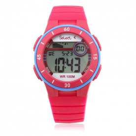 Reloj Infantil Select Digital Fucsia