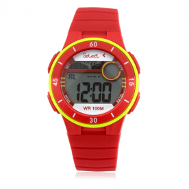 Reloj Infantil Select Digital Rojo