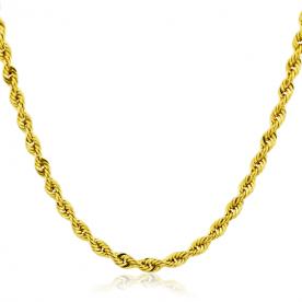 Cordón de Oro 18K 60cm