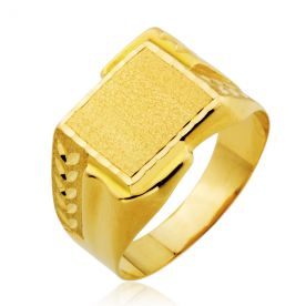 Sello Rectangular Motivos 18K