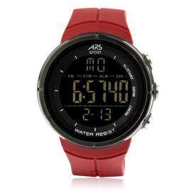 Reloj ARS Mountain Digital Rojo
