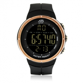 Reloj ARS Mountain Digital Cooper Negro