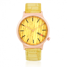 Reloj Aresso Tropical Amarillo