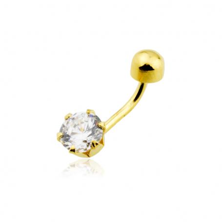 Piercing Gran Circonita Oro