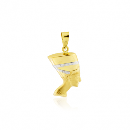 Colgante Nefertiti Oro