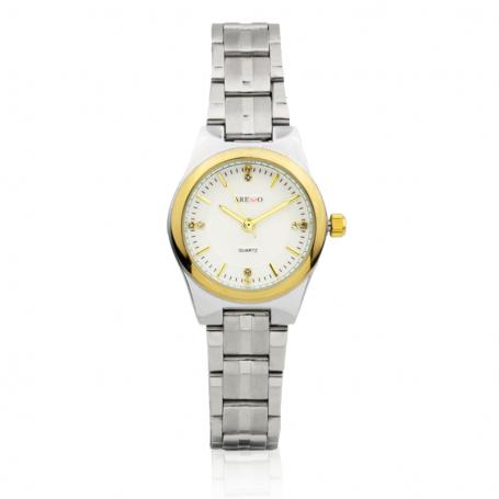 Reloj Mujer Aresso Bicolor
