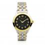 Reloj Hombre y Mujer Bicolor Negro Textura Aresso