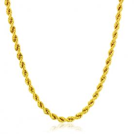 Cordón de Oro 18K 4.5mm 50cm