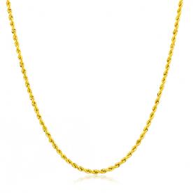 Cordón de Oro 18K 1.5mm 45cm