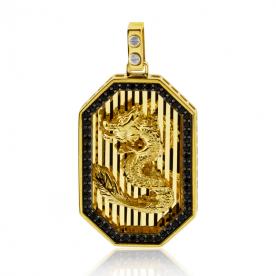 Colgante Dragón Oro 18K