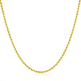 Cordón de Oro 18K 1,5mm 40cm