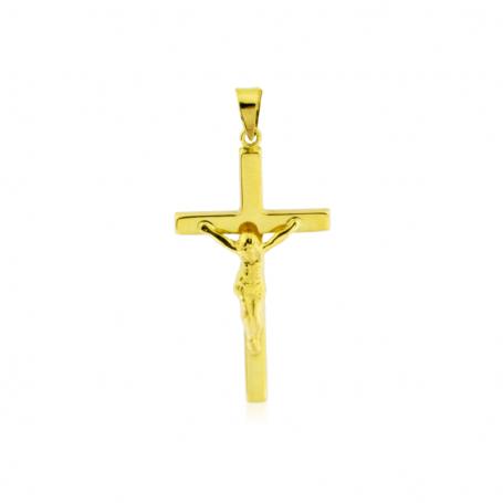 Cruz con Cristo de Oro 18k