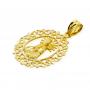 Medalla Virgen de los Desamparados Oro 18k