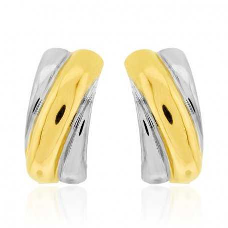 Pendientes Mujer Oro Amarillo Oro Blanco Forming