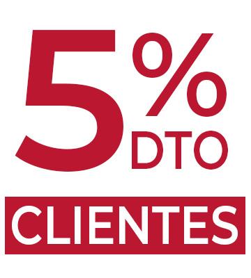 Descuento clientes 5% Joyerías Aresso