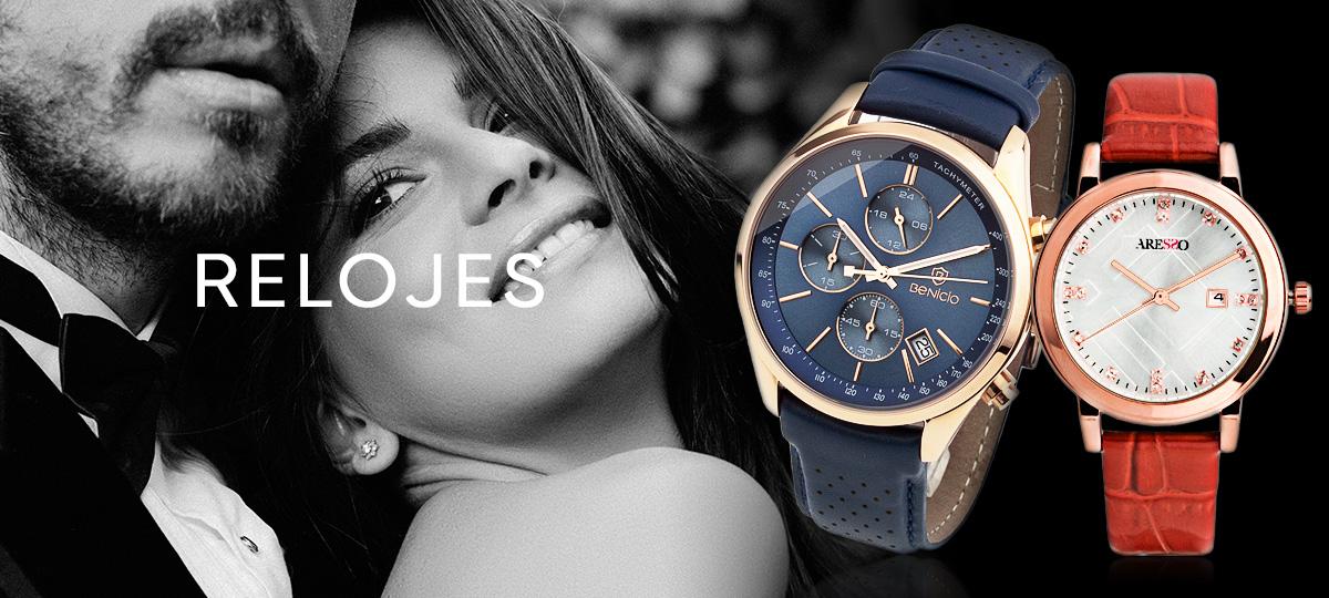 Colección de relojes para hombre y mujer